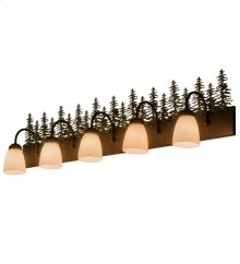 "48""W Tall Pines 5 LT Vanity Light"