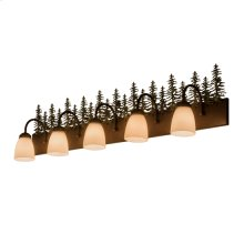 "48""W Tall Pines 5 LT Vanity Light"