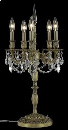 9205 Rosalia Collection Table Lamp French Gold Finish Product Image