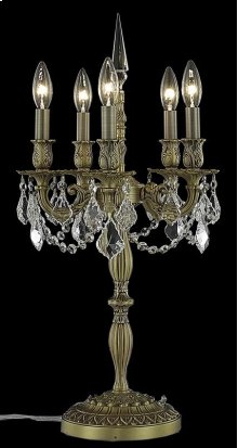 9205 Rosalia Collection Table Lamp French Gold Finish