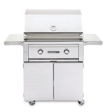 "30"" Sedona by Lynx Freestanding Grill, 2 SS Tube Burners LP - Ships Assembled"