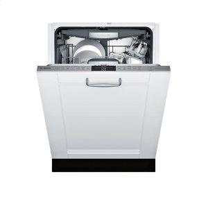 Bosch800 Custom Panel, 6/5 cycles, 42 dBA, Flex 3rd Rck, UR Glide, Touch Cntrls, InfoLight - CP