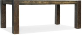 Crafted Rectangle Dining Table w/2-18in leaves