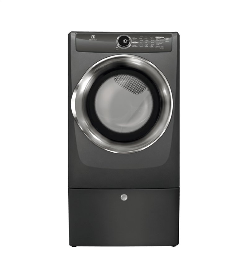 Front Load Perfect Steam Gas Dryer With Instant Refresh And 8 Cycles 0 Cu