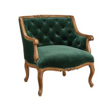 Emerald Bloom Chair