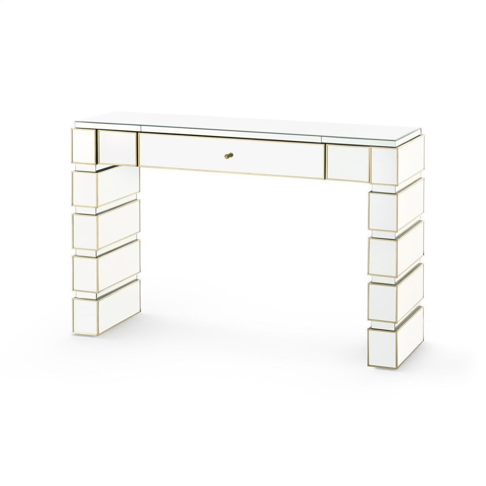Eaves Console Table, Mirror