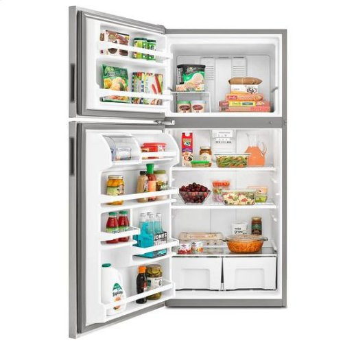 30-inch Wide Top-Freezer Refrigerator with Garden Fresh™ Crisper Bins - 18 cu. ft. - white