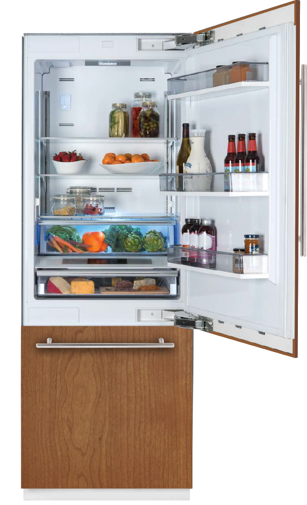 "30"" Built-in Fridge, Panel Ready, with ice