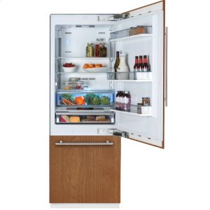 "Blomberg30"" Built-in Fridge, Panel Ready, with ice"