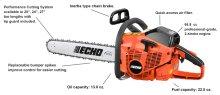 ECHO CS-680 66.8cc Professional Use Chain Saw