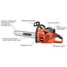 ECHO CS-680 66.8cc Professional Use Chain Saw