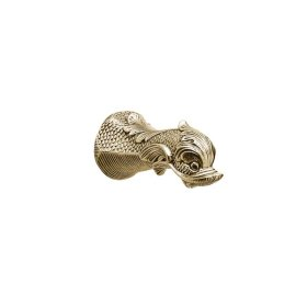 DOLPHIN Wall Tub Spout K1101X3 - Polished Brass Uncoated