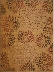 RADIANT IMPRESSION LK01 BGE RECTANGLE RUG 5'6'' x 7'5''