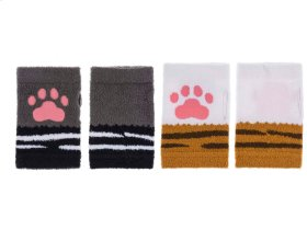 6 pc. ppk. Paw Fingerless Gloves