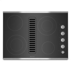 "Jenn-Air® Electric Radiant Downdraft, 30"" - Stainless Steel"