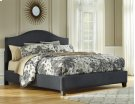 Queen Upholstered Bed HB,FB Rails Product Image
