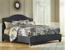 Queen Upholstered Bed HB,FB Rails