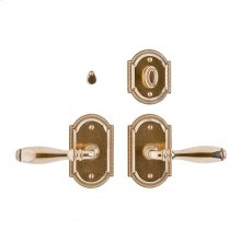 "Ellis Privacy Set - 3"" x 5"" Silicon Bronze Brushed"