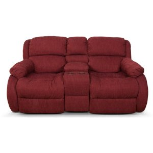 ENGLAND FURNITURE Hali Double Reclining Loveseat Console 2010-85