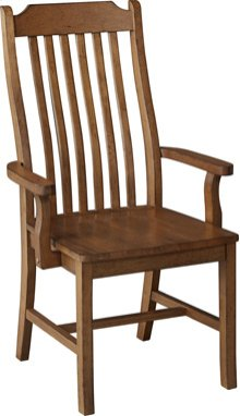 Mission Arm Chair Pecan