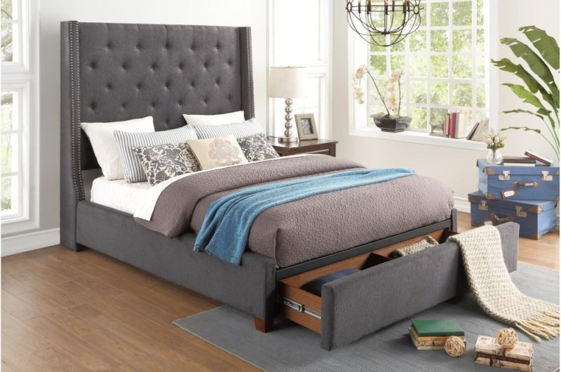 5877fgy1dw In By Homelegance In Clanton Al Full Platform Bed With