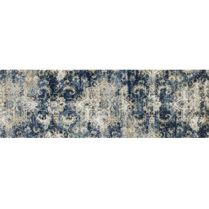 Navy / Ivory Rug