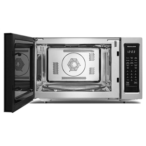"21 3/4"" Countertop Convection Microwave Oven - 1000 Watt - Stainless Steel"