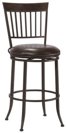 Hawkins Commercial Swivel Bar Stool