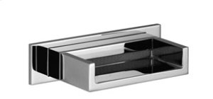 WATER FALL Cascade spout for wall-mounted installation - chrome