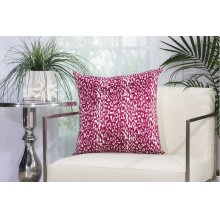 "Outdoor Pillow As524 Lilac 20"" X 20"" Throw Pillow"