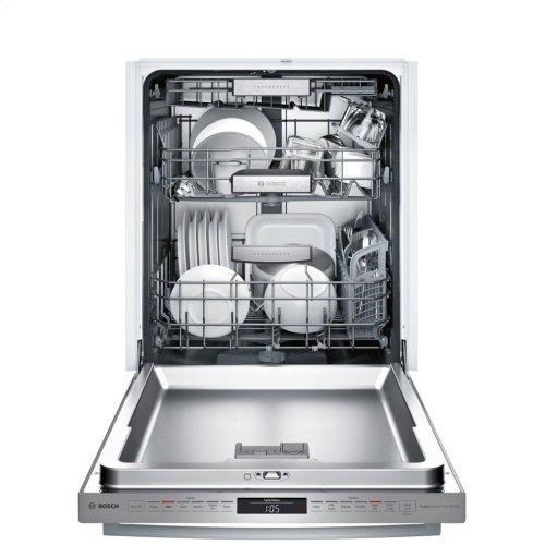 Benchmark® built-under dishwasher 24'' Stainless steel SHX87PW55N