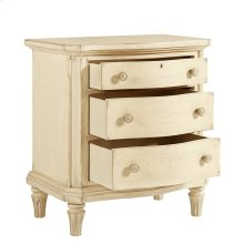 European Cottage-Night Stand in Vintage White