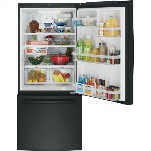 GE® ENERGY STAR® 21.0 Cu. Ft. Bottom-Freezer Refrigerator