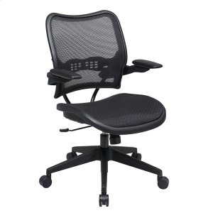 Office StarDeluxe Airgrid Seat and Back Chair With Cantilever Arms