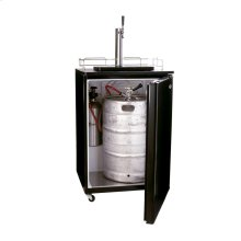 Kegerator Beer Dispenser in Black