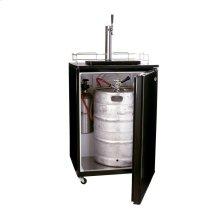 Kegerator Beer Dispenser in Black