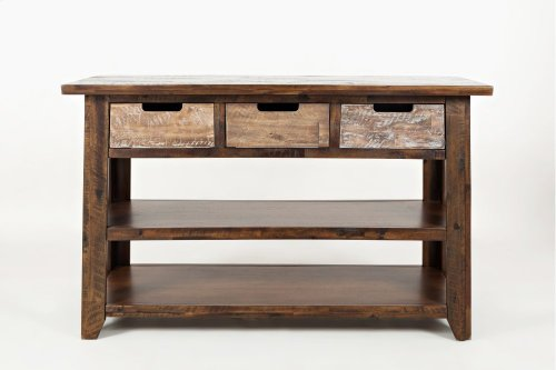 Painted Canyon Sofa Table