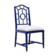 Chloe Side Chair, Navy Blue