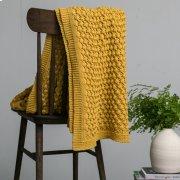 Tessa Throw - Mustard Product Image