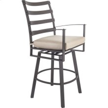 Swivel Bar Stool With Arms