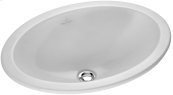 Drop-in washbasin (oval) Oval - White Alpin