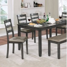 Gloria 6 Pc. Dining Table Set