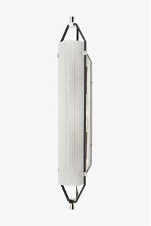 Addair Wall Mounted Double Sconce with Glass Shade STYLE: ADLT02