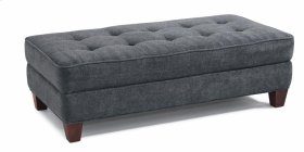 Nash Fabric Rectangular Cocktail Ottoman