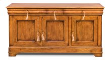 Cafe Au Lait Buffet, Fruitwood Finish