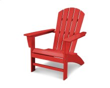 Sunset Red Nautical Adirondack Chair