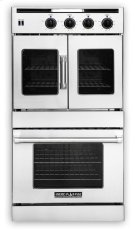 """30"""" Legacy French & Chef Door Double Deck Wall Oven Product Image"""