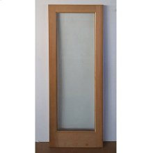 Cedar Glass Door 05 - Old Stock (CALL FOR FREIGHT QUOTE)