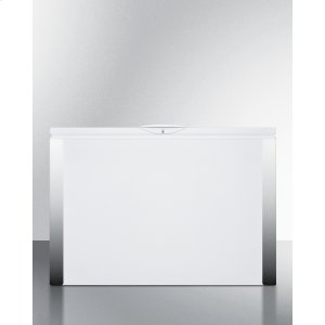 SummitCommercially Listed 15 CU.FT. Frost-free Chest Freezer In White With Digital Thermostat for General Purpose Storage; Replaces Scff120