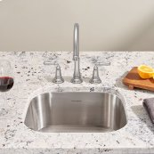 Portsmouth Undermount 18x16 Single Bowl Kitchen Sink  American Standard - Stainless Steel